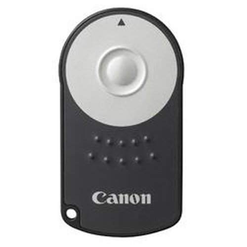 Canon RC-6 Kamera-Fernbedienung IR Wireless - Kamera-Fernbedienungen (IR Wireless, Schwarz, Silber, 5 m)