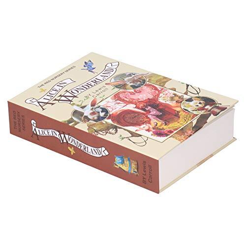 Caja Fuerte Oculta para Libros, Caja Fuerte para Libros antirrobo, porttil Multiusos de 8.7X6.0X1.8Inch para joyera de Dinero