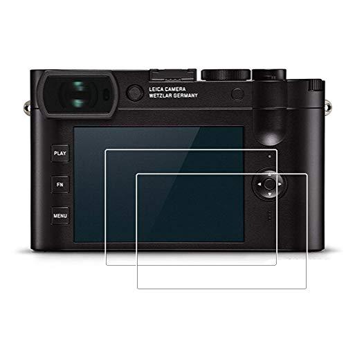 Zshion Protector de pantalla compatible con Leica Q2, 9H Dur
