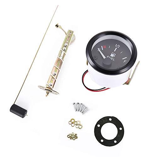 Homyl Kit Medidor de Nivel de Combustible Digital Electr/ónicos de Veh/ículos Marino