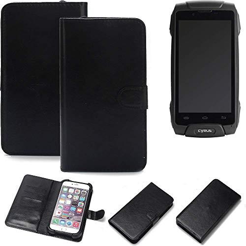 K-S-Trade® Handy Schutz Hülle Für Cyrus CS 30 Schutzhülle Bumper Schwarz 1x