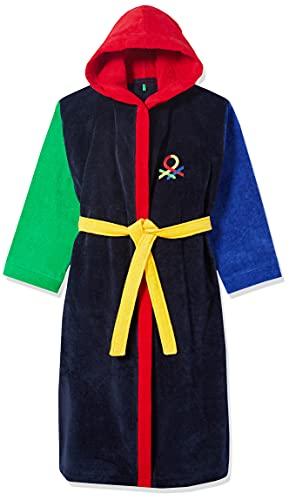 United Colors of Benetton Jungen 6FH3T71D5 Bademantel, Multicolore 901, 140 cm