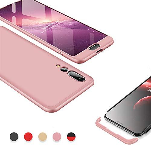 Kawaii-Shop Custodia per Samsung Galaxy J5 2017, 3 in 1 Oro Rosa Sottile Cover AntiGraffio Resistenti Antiurto Ultra Slim Hard Case
