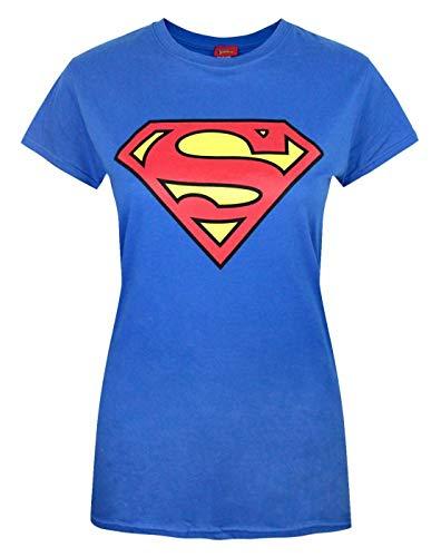 Damen - Official - Superman - T-Shirt (L)
