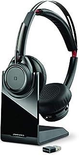 Plantronics Voyager Focus UC Bluetooth USB B825 202652-101 - Auriculares con cancelación Activa de Ruido