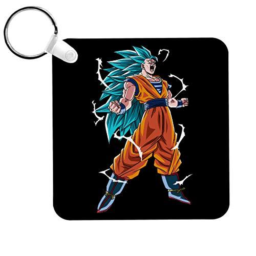 Goku Super Saiyan Drie Draak Bal Z Sleutelhanger