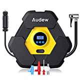 Audew Portable Air Compressor Pump, Auto Digital Tire Inflator, 12V...