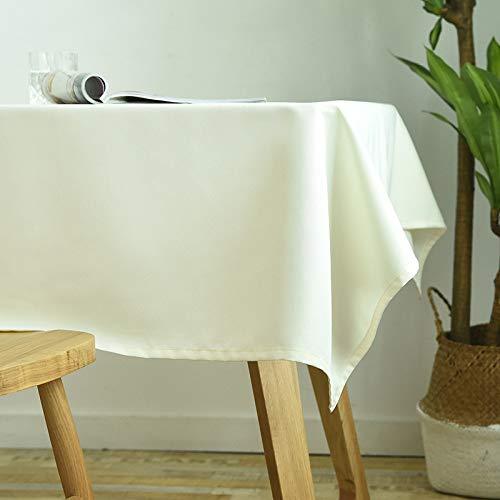 HEZESHOP Mantel Jardín Mantel Decorativo A Prueba de Aceite Grueso Rectangular Cubierta de Mesa de Boda Paño de Mesa de café 140X250CM