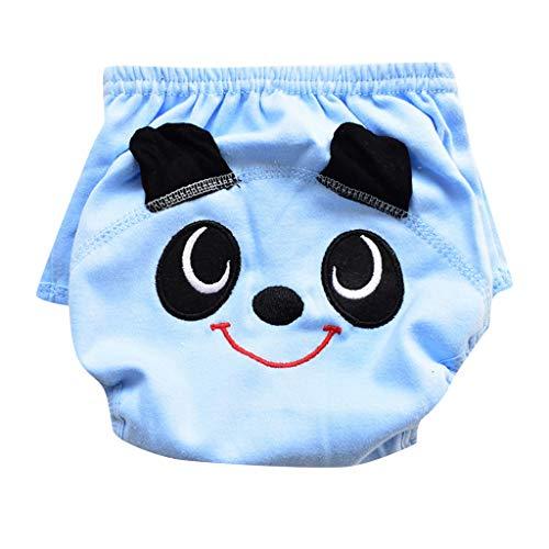 feiXIANG Baby Badehose Kleinkind Windelhose Karikatur Kinder Unterwäsche Säuglingsbaby Schwimmen Kleidung(Blau,6-12 Months)