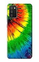JP3422A3S タイダイ Tie Dye For Samsung Galaxy A03S 用ケース