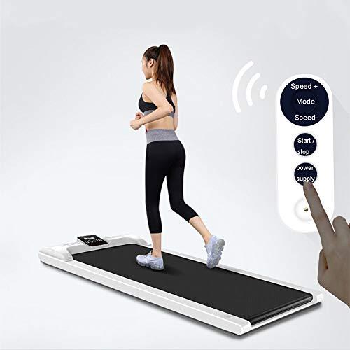 2-In-1 Loopband Draagbare 0,75 Pk Mini Stille Loop Hardlopen Joggen Fitness Machine Met Afstandsbediening En LED-Display, Voor Thuis/Op Kantoor