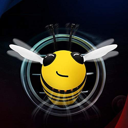 Easy-topbuy Lüftungsdekorationen Parfüm, Niedliche Bienenform Auto Innenraum Auto Charm Duft Lufterfrischer Halter Autozubehör Innenraum