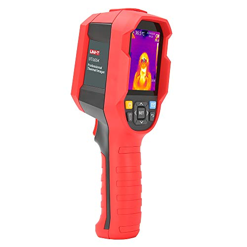 UNI-T Infrared Thermal Imager Imaging Camera Photographed Tester with PC Software Analysis Type-C USB Interface (UTi165K)