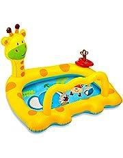 Piscina Inflable Fawn, Centro De Juegos Inflable, Piscina Acolchada Fresca De Verano Espesa, Juguetes De Agua Fría Para Niños, Piscina Infantil Inflable Para La Familia, Piscina De Jardín