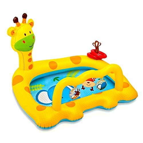 Gazaar Flotador de la piscina del bebé, flotador inflable del bebé del anillo de natación para la piscina