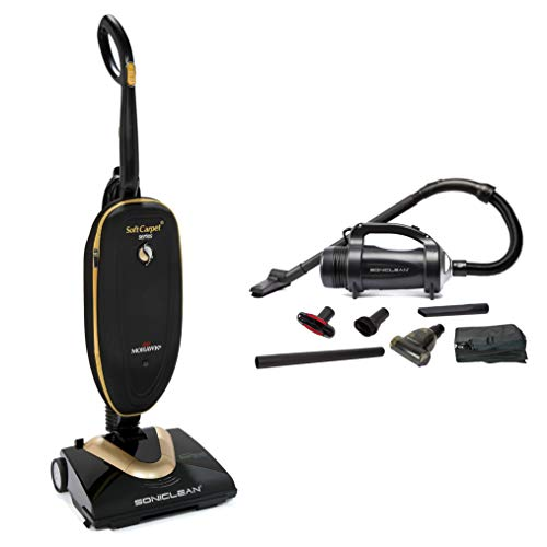 Soniclean Soft Carpet Vacuum Cleaner/Handheld Combo