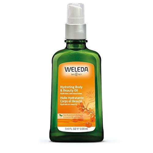 Weleda Sanddoorn Vitaliserende verzorgende olie, natuurlijke cosmetica, lichaamsolie voor de intensieve verzorging van droge huid, bodyolie voor merkbare gladheid en herstel van de huid, 1 x 100 ml