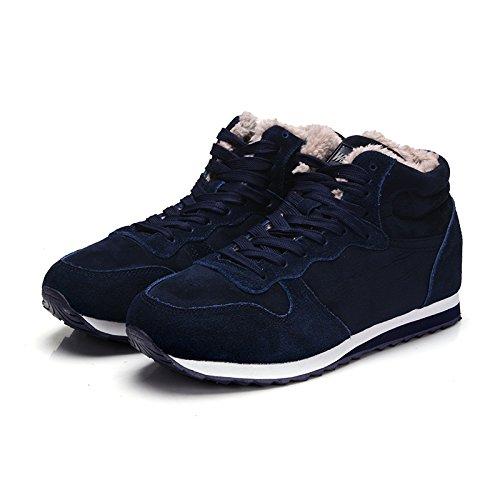 Shukun enkellaarsjes paar modellen warm katoen schoenen winter mannen en vrouwen paar modellen warm katoen schoenen sneeuw laarzen
