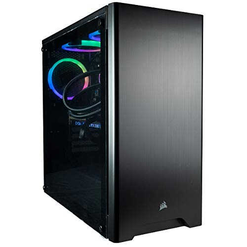 CUK Sentinel Black Gaming PC (AMD Ryzen 7, 32GB RAM, 512GB NVMe SSD + 2TB HDD, NVIDIA GeForce RTX 2080 Super 8GB, 700W Gold PSU, Windows 10) Best Tower Desktop Computer for Gamers
