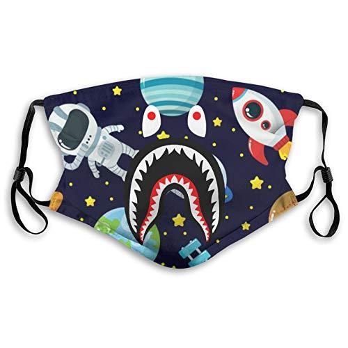 Big Mouth Shark Ba-Pe Face Mask Washable Reusable Protecting Mask Mans Women