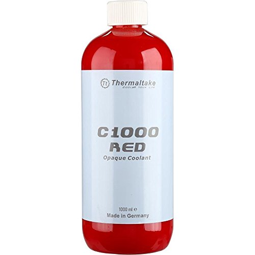 Thermaltake C1000 1000ml Vivid Color Computer Water Cooling System Coolant CL-W114-OS00RE-A, Red