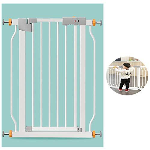 FRDF Huisdier hek, Intrekbare Naadloze IJzeren Pijpbescherming, Verstelbare Baby Secure Gate