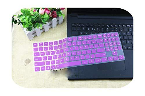 Silikon-Schutzhülle für 38,1 cm (15 Zoll) Laptop für Lenovo Legion Y720 Y520 Y530 Y540 R720 R730 15IKBN R720-15IKBN 15 Zoll, Violett