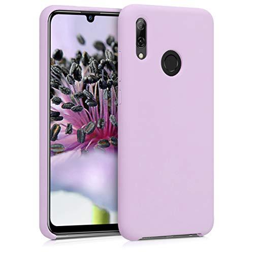 kwmobile Coque Compatible avec Huawei P Smart (2019) - Housse de téléphone Protection Souple en TPU Silicone - Mauve Pastel