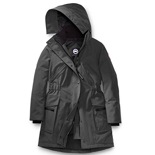 Canada Goose Women's Kinley Parka (Graphite, X-Large)