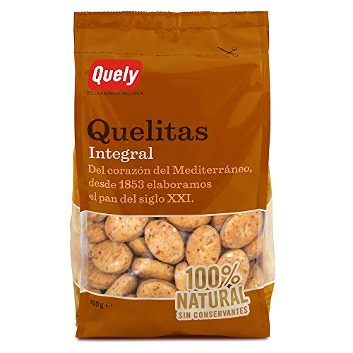 Quely Quelitas Integral 400 g Pack de 16