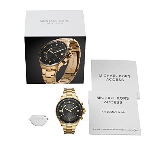 Michael Kors Homme Analogique Quartz Montre avec Bracelet en Acier Inoxydable MKT4014