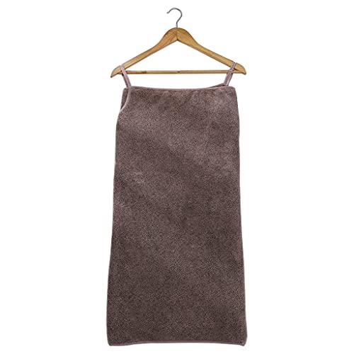 RG-FA Toalla de baño usable atractiva para mujer, terciopelo coral, albornoz de ducha, manta de playa - vino tinto