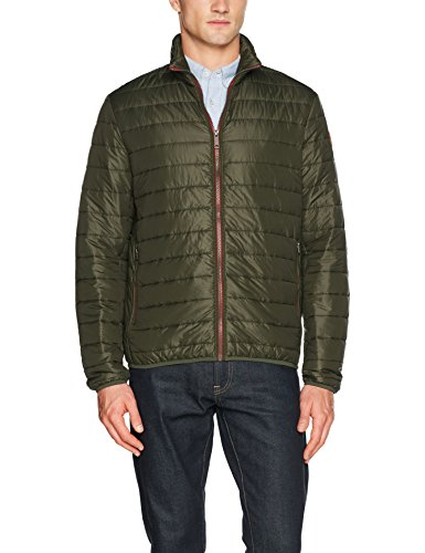 Timberland Milford Quilted Jack Tim Chaqueta, Verde (Forest TGA), Medium para Hombre