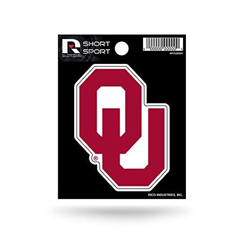 NCAA Oklahoma Sooners Die Cut Team Logo Short Sport Sticker