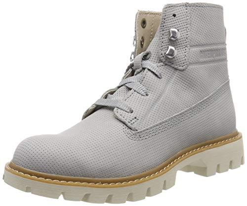 Cat Footwear Basis, Botines Mujer, Gris (Belgian Block Light Grey), 38 EU