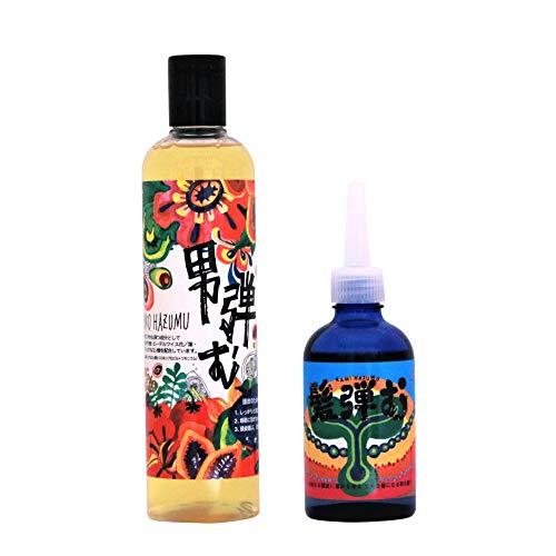 髪弾む 養毛剤 + 男弾むシャンプー セット (養毛剤 90ml・ シャンプー 300ml)