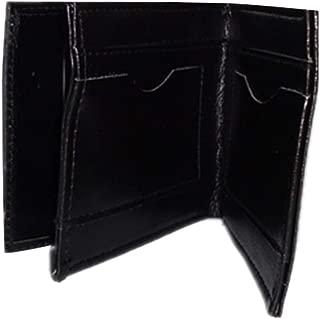 Yagaga Magic Wallet Billfold, Magic Trick Fire Flaming Wallet Leather Street Show Close up Magic Props Wallet Purse (S)
