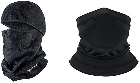 AstroAI Sun and UV Protection Neck Gaiter and Windproof Ski Mask Bundle product image