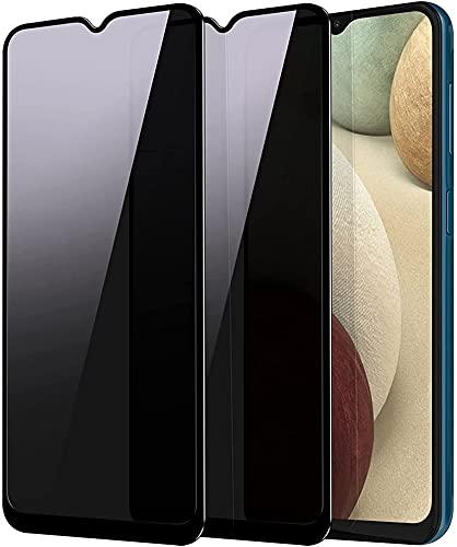 MIYOYE [2 unidades] Película protetora de tela de privacidade compatível com Nokia X7, vidro temperado antiespionagem antiespionagem antibolhas para Nokia X7