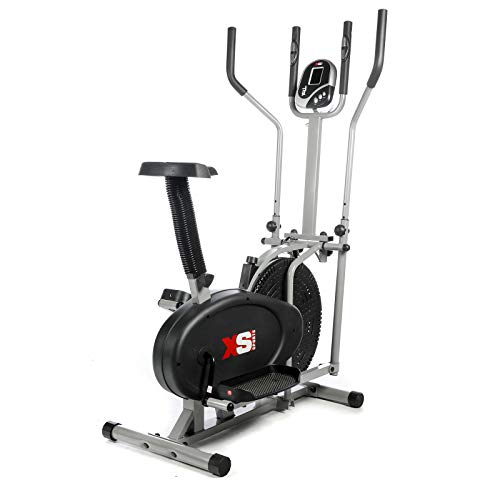 XS Sports Pro 2-in1 Elliptical Cross Trainer Exercise Bike