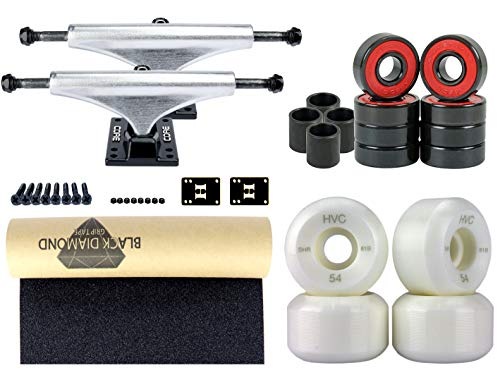CORE Skateboard Achsen Set-up Silver 5.5