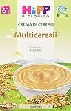 HiPP Crema di Cereali Multicereali - Pacco da 6 x 200 gr