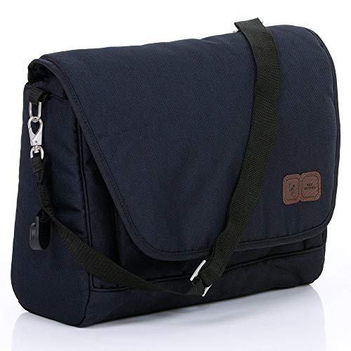 ABC Design Wickeltasche Fashion - Messenger Bag mit Wickelauflage und Fronttasche - Shadow