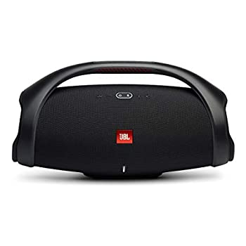 JBL Boombox 2 - Portable Bluetooth Speaker Powerful Sound and Monstrous Bass IPX7 Waterproof 24 Hours of Playtime Powerbank JBL PartyBoost for Speaker Pairing Speaker for Home and Outdoor Black