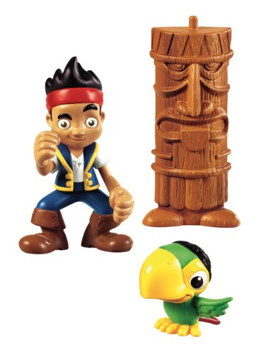Jake y los Piratas - Figura de acción, Jake y Skully (Mattel Y2259)
