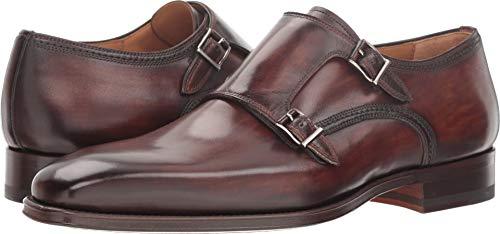 Magnanni Landon Tabaco Men's Monk Strap Shoes Size 11 US