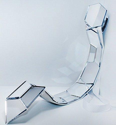 Krawatten mirrored Plexiglas