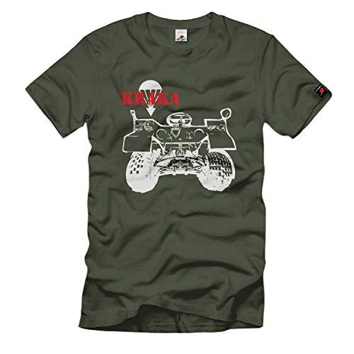 Kraka Bundeswehr Quad Transportmittel Fahrzeug - T Shirt #263, Größe:XXL, Farbe:Oliv