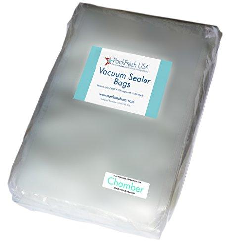 PackFresh USA Quart Chamber Vacuum Sealer Bags (25)