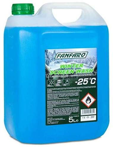 FANFARO Screenwash – 25C All Seasons Winter, 5 litros